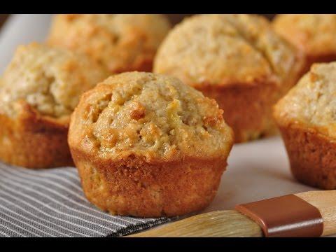 Orange & Pineapple Muffins Recipe Demonstration - Joyofbaking.com