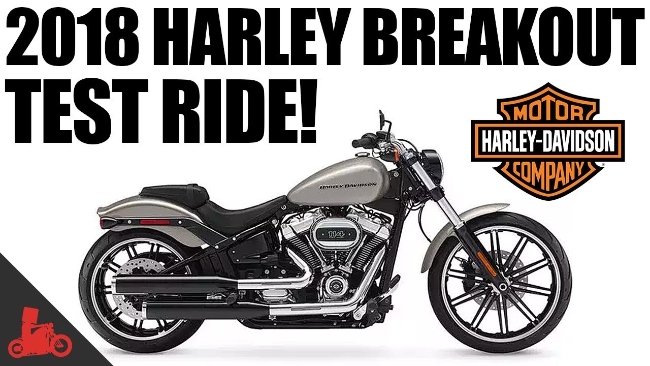 2018 harley davidson breakout 114 test ride youtube. Black Bedroom Furniture Sets. Home Design Ideas