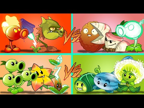 Plants Vs Zombies 2 Duelo De 4 Equipos Aleatorios