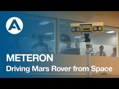 METERON - Driving Mars Rover from Space