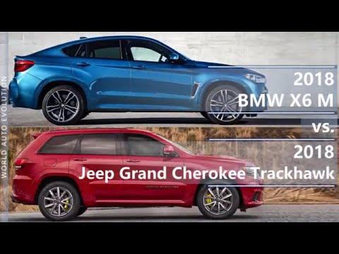 2018 BMW X6 M Vs 2018 Jeep Grand Cherokee Trackhawk (technical Comparison)