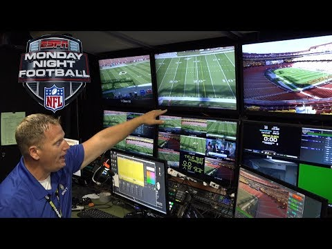 Monday Night Football - Behind The Scenes   Graphics Operation