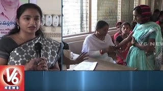 Collector Swetha Mohanty Conducts Cheyutha Program In Wanaparthy | V6 News