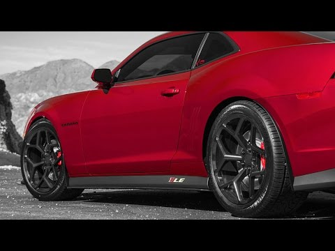 Mrr 228 Wheels On Chevy Camaro Youtube