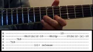 Arctic Monkeys - Arabella - Solo lesson with tabs!