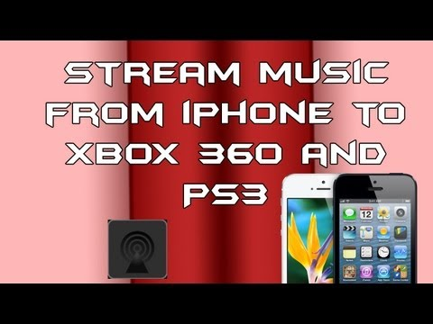 How to Stream Music from iPhone to Xbox 360 (FREE)