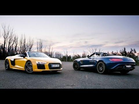 2018 Bmw I8 Roadster Vs Audi R8 Spyder Bmw I8 Vs Audi R8