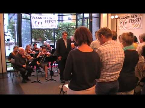 Paul Claus en Andante Favore, De Vlaamse Leeuw