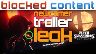 No Way.. NEWCOMER Trailer LEAK Shows 1st Party VILLAIN From EARTHBOUND - Smash Ultimate LEAK SPEAK!