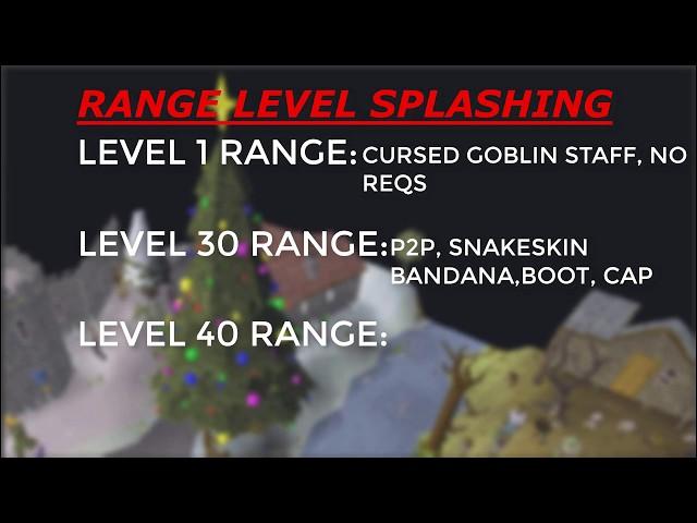osrs magic splashing guide