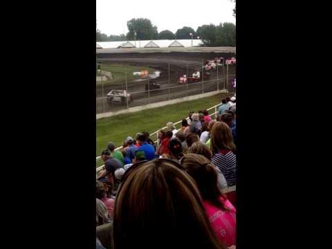 Dakota State Fair Speedway Midwest Modified Heat 6