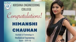 Gambar cover INTERVIEW OF HIMANSHI CHAUHAN || SSC TECH(W) AIR RANK 1 || STUDENT OF KRISHNA ENGINEERING COLLEGE