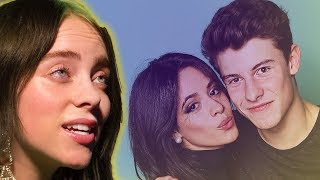 Billie Eilish Shades Brother Finneas & Shawn Mendes Reveals Camila Cabello Rejected His Love