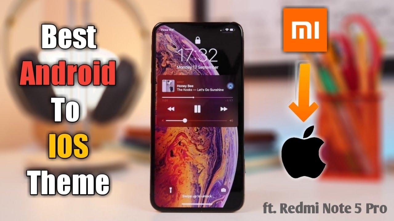 Best IOS 11 Theme for MIUI10 | ft  Redmi Note 5,Pro