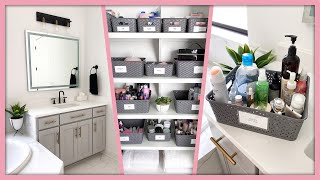 EXTREME Bathroom Organization & Declutter! *Satisfying*