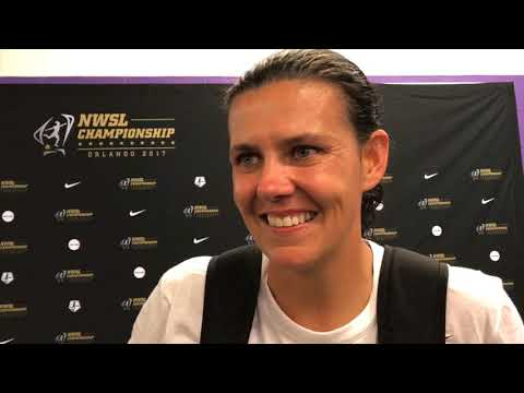 Portland Thorns captain Christine Sinclair on winning the NWSL Championship