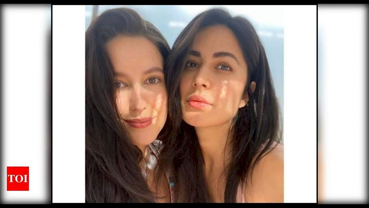 These adorable pictures of Katrina Kaif with her sister ...