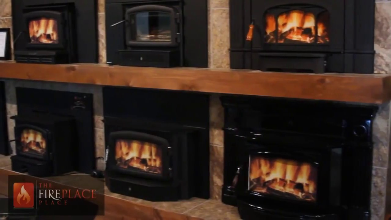 wood burning fireplace inserts youtube