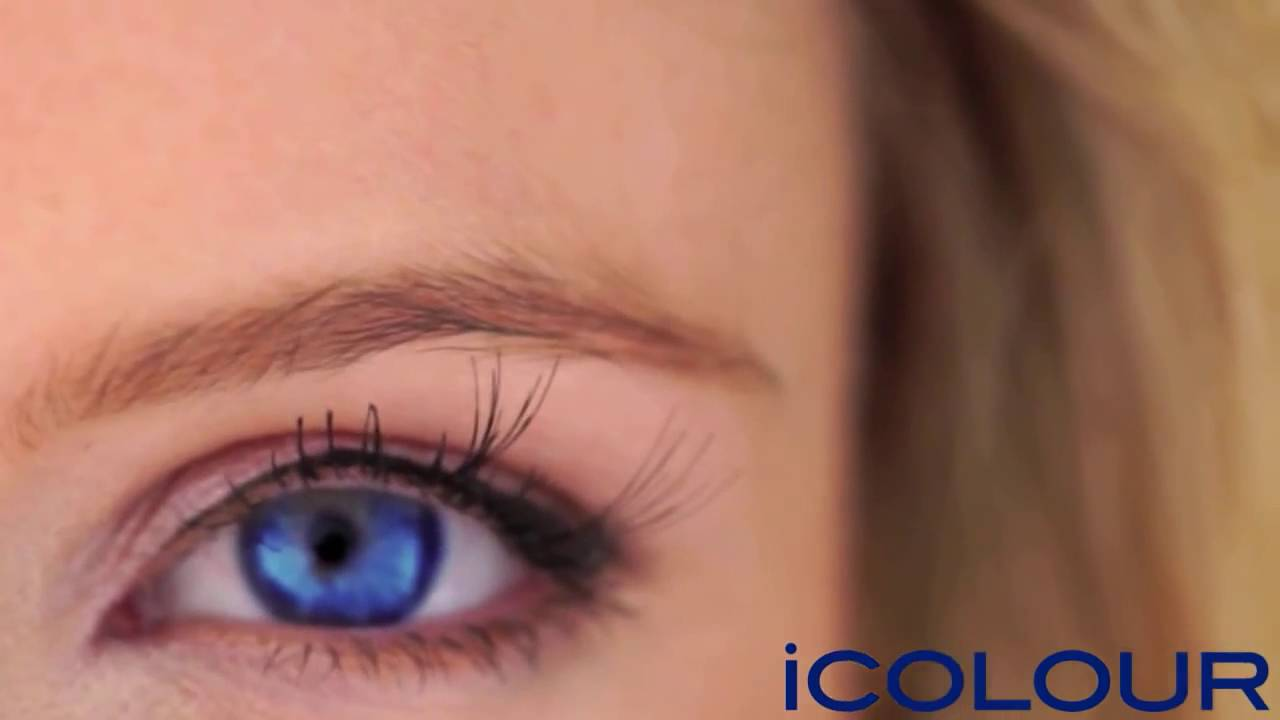 Icolour Color Changing Eye Drops Youtube