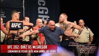 UFC 202 Diaz vs McGregor 2: Weigh Ins