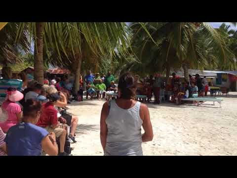 Palmerston Island - Cruise Ship Welcome Hymn - Will in Paradise