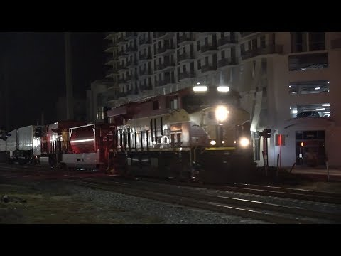 Railfanning the Fast and Furious FEC! 6 Trains in 4 Hours!