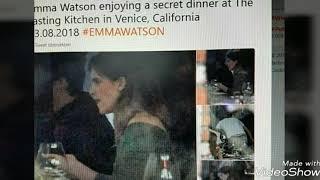 Emma Watson had a secret dinner with Tom? (August 2018)//Emma ha avuto una cena segreta con Tom?