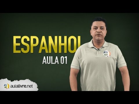 Espanhol - Aula 01 - Conjunciones