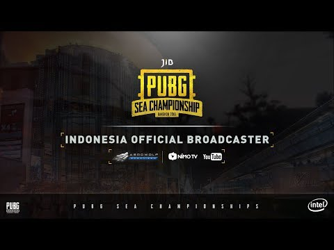 [LIVE] JIB PUBG SEA CHAMPIONSHIP INDONESIA COVERAGE DAY - 1 PART B