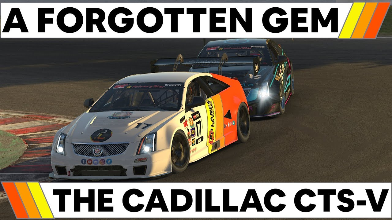 Video: Is the iRacing Cadillac CTS-V a hidden gem?