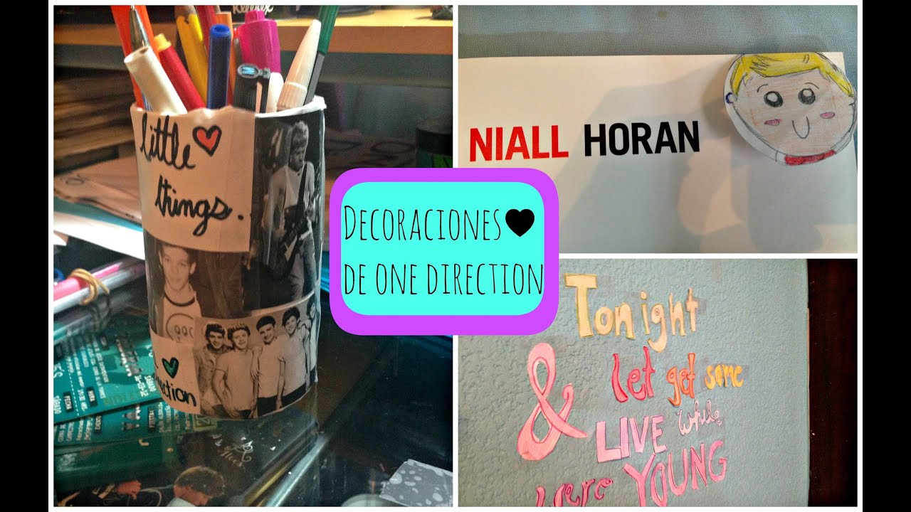 Diy decoraciones para tu cuarto de one direction 2 for Decoraciones para habitaciones