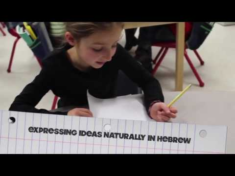 Hatikvah Students Engaging in Hebrew Language