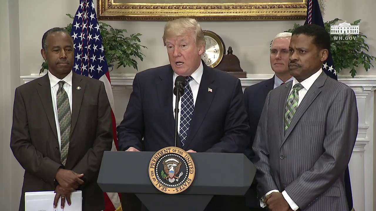 President Trump Signs A Proclamation To Honor Dr Martin Luther King