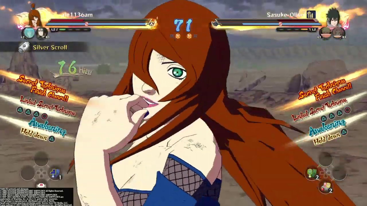 Naruto Ultimate Ninja Storm 4 - Mei gameplay online