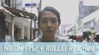 NIKON FM2 + ROLLEI RPX 400 QUICKIE ROLL #11 - MARINA MAYANGSARI