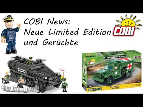 COBI News: Neue Limited Editions und Gerüchte (Ausgabe 13, COBI 4824, 2551, 2552)