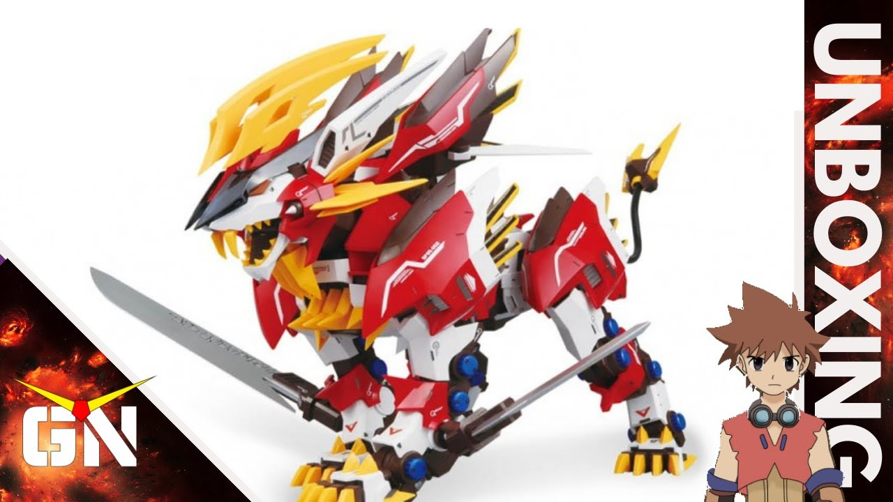 1/72 Hayate Liger (Red = 2X Faster) | UNBOXING