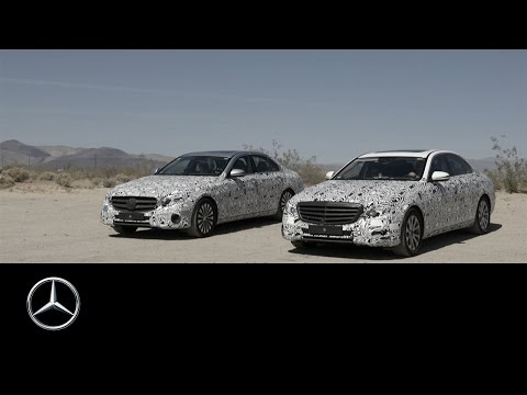 Prototype and Testing: E-Class Making-of – Part 1 – Mercedes-Benz original