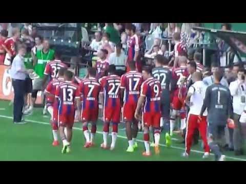 2014 MLS All-Stars v. FC Bayern Munich - Players Enter for Pre-Game Warm-Ups