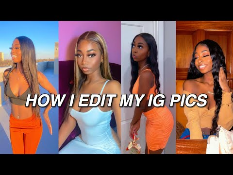 HOW TO EDIT YOUR INSTAGRAM PICTURES LIKE A PRO INFLUENCER// FREE IPHONE APPS TO CATFISH 2021