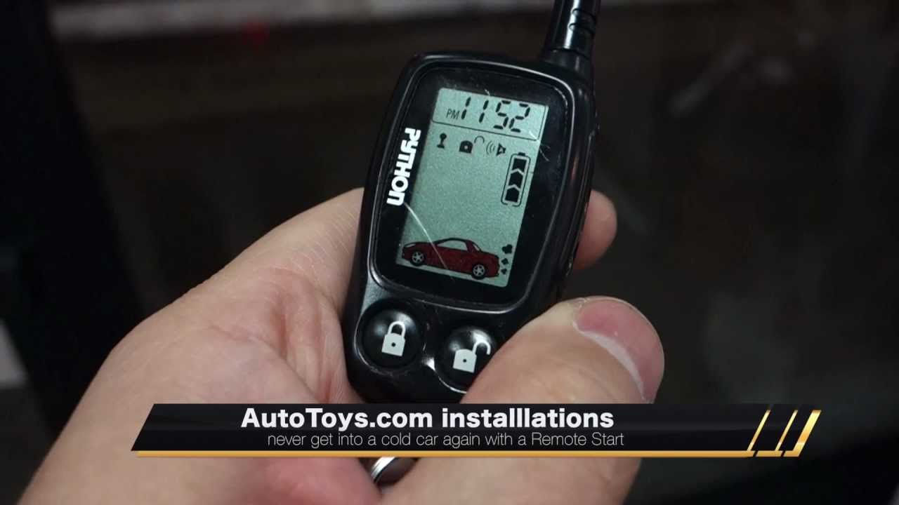 Why Get A Remote Start (snow!), Heat And Defrost Your Car