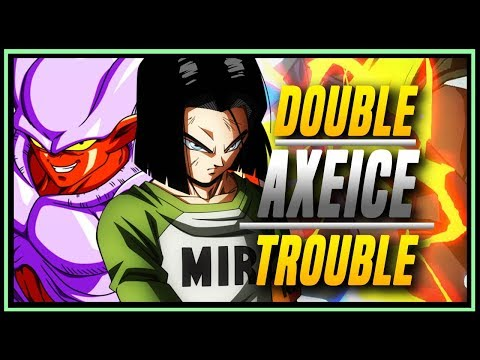 DBFZ ➤ Axeice Janemba And Android 17 [ Dragon Ball FighterZ ]