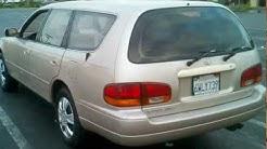 1995 TOYOTA CAMERY WAGON THRID ROW SEAT.