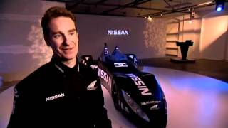 The Nissan DeltaWing racecar
