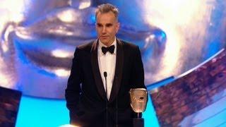 Daniel Day-Lewis wins Best Leading Actor Bafta - The British Academy Film Awards 2013 - BBC One