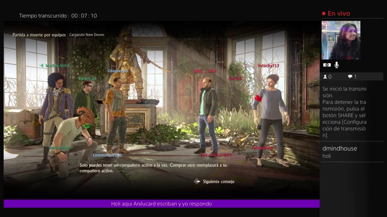 Anilcard multijugador uncharted 4