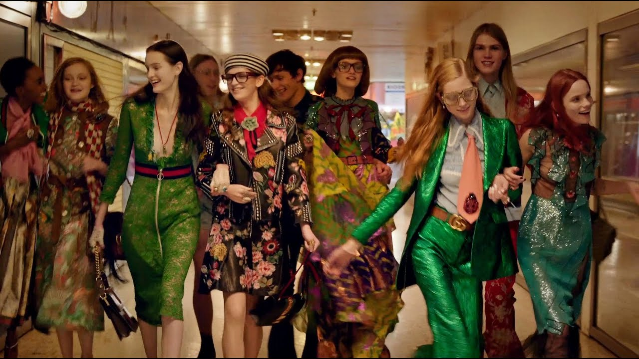 514d09a76473 Gucci Spring Summer 2016 Campaign Film - YouTube