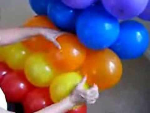 Радуга из шаров своими руками пошаговая 80