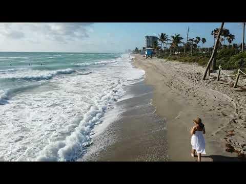 Dania Beach Florida Morning Surf 2/25/2020. DJI Osmo Pocket