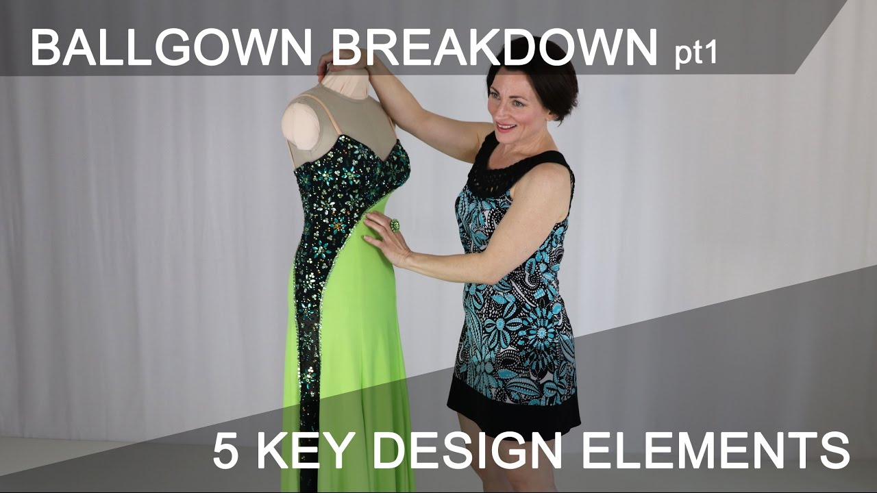 Strong Design Elements Make A Ballgown Shine Sew Like A Pro